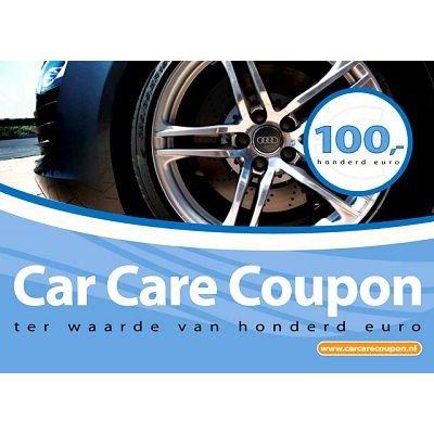 Car Care Coupon - Blauw - € 100,-