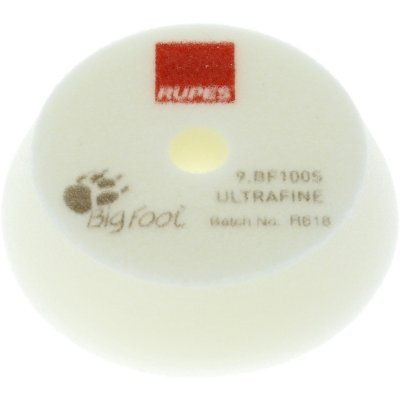 White Ultra Fine Finishing Pad - 80/100mm