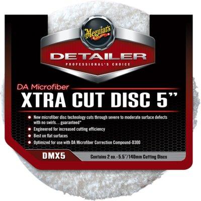 DA Microfiber Xtra Cut Disk 125mm - 2-pack