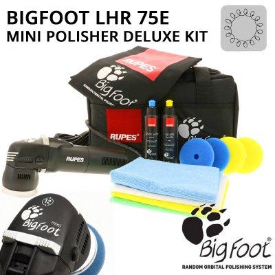 Big Foot LHR75E Mini Polisher Deluxe Kit