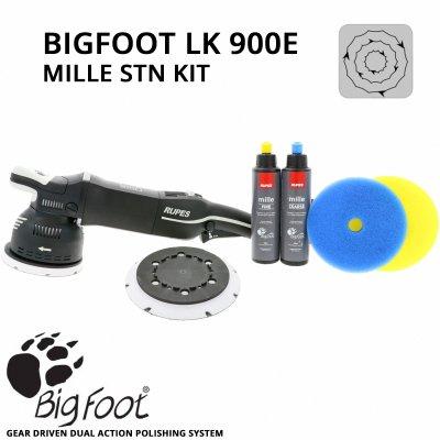BigFoot Mille LK 900E Gear Driven Dual Action Polisher STN Kit
